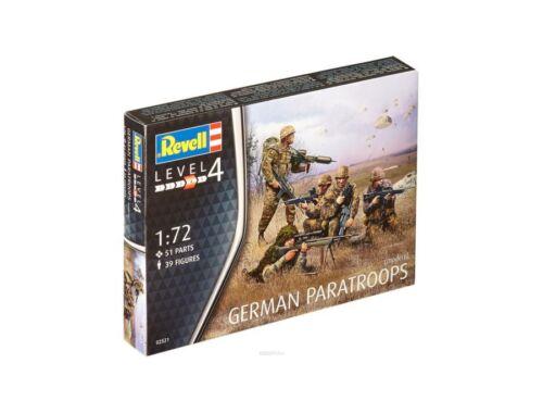 Revell German Paratroops Modern 1:72 (2521)