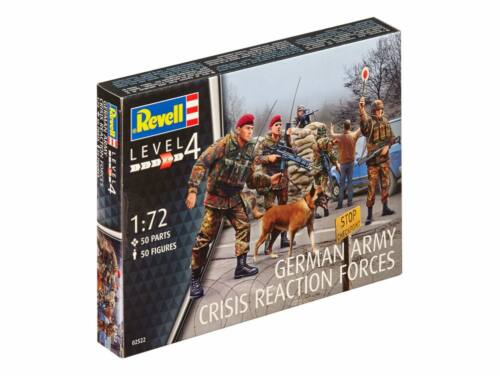 """Revell German Army """"Crisis Reaction Forces"""" 1:72 (2522)"""