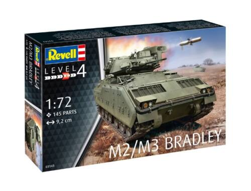 Revell M2/M3 Bradley 1:72 (3143)