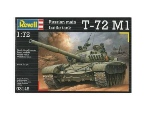Revell Russian Main Battle tank T-72 M1 1:72 (3149)