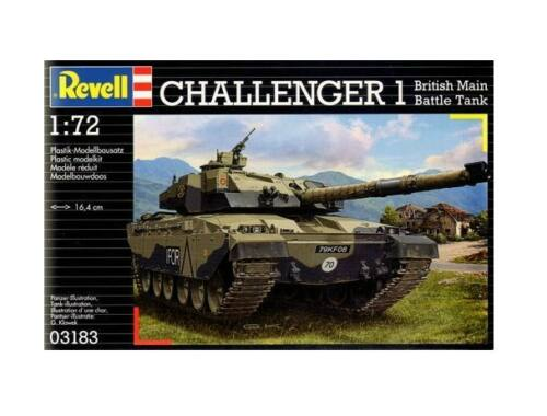 Revell Challenger I British Main Battle Tank 1:72 (3183)