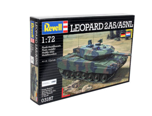 Revell Leopard 2 A5/A5 NLL 1:72 (3187)
