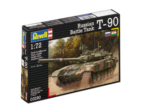 Revell Russian Battle Tank T-90 1:72 (3190)