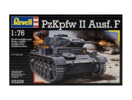 Revell PzKpfw II Ausf. F 1:76 (3229)