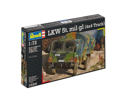 Revell LKW 5t.mil gl (4x4 Truck) 1:72 (3300)