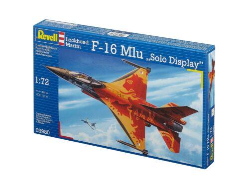 Revell Lockheed Martin F-16 Mlu 'Solo Display' 1:72 (3980)
