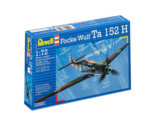 Revell Focke Wulf Ta 152 H 1:72 (3981)