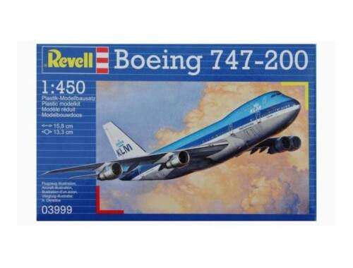 Revell Boeing 747-200 1:450 (3999)