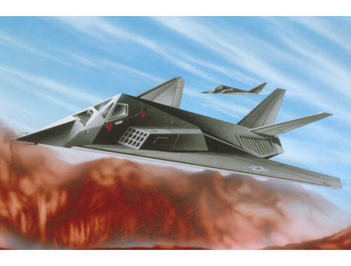 Revell Revell F-117 A Stealth Fighter 1:144 (4037) (04037)