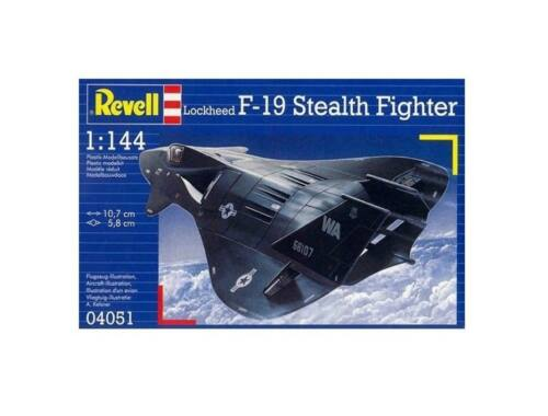 Revell Lockheed F-19 Stealth Fighter 1:144 (4051)