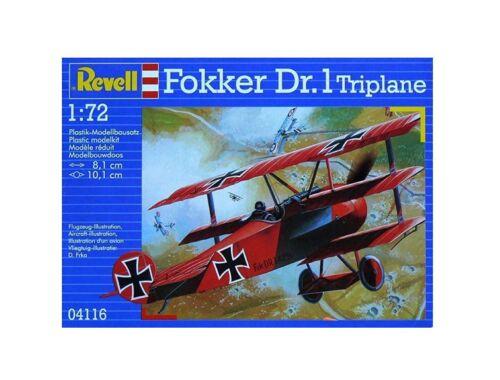 Revell Fokker Dr. 1 Triplane 1:72 (4116)