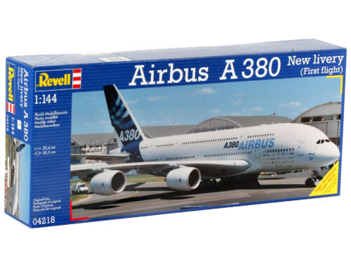 Revell Airbus A380 New livery (First Flight) 1:144 (4218)