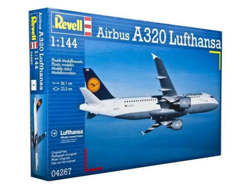 Revell Airbus A320 Lufthansa 1:144 (4267)