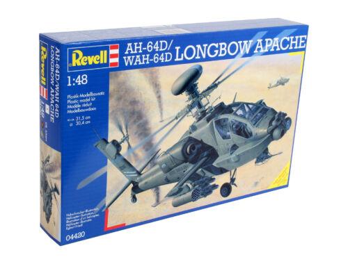 Revell AH-64D/WAH-64D Longbow Apache 1:48 (4420)