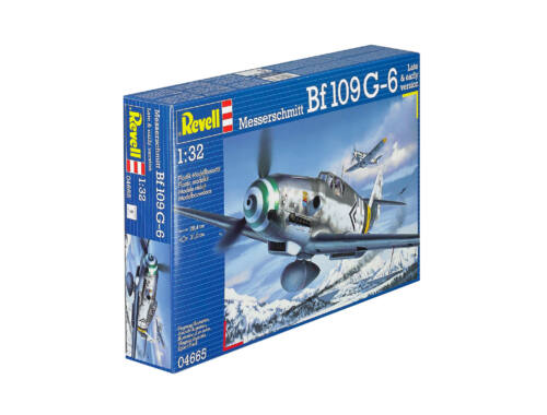 Revell Messerschmitt Bf109 G-6 Late   early version 1:32 (4665)