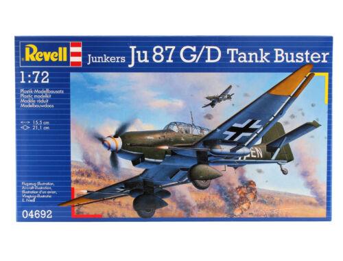 Revell Junkers Ju 87 G/D Tank Buster 1:72 (4692)
