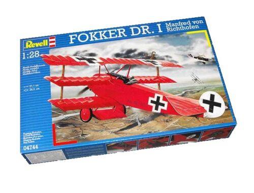 Revell Fokker Dr.1 Manfred von Richthofen 1:28 (4744)
