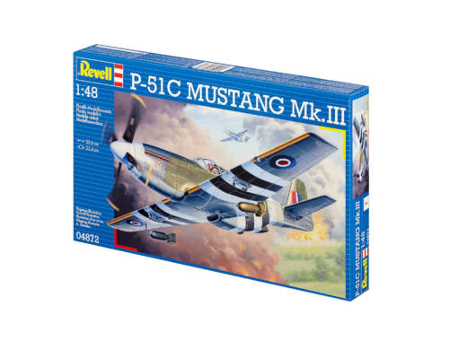 P-51 C Mustang (Mk.III) 1/48 (4872)