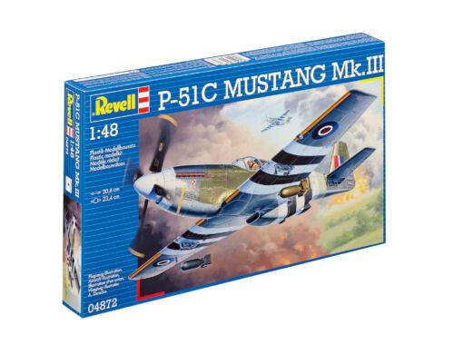 Revell P-51C Mustang (Mk.III) 1:48 (4872)