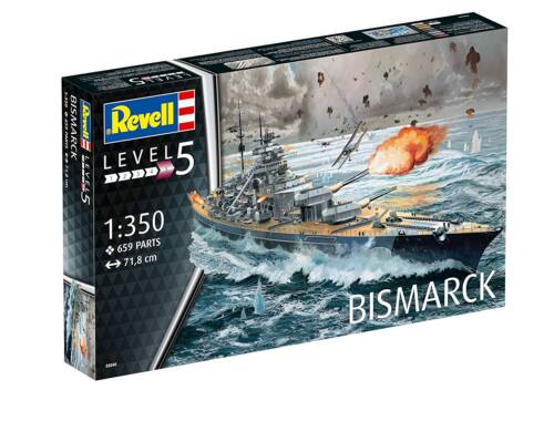 Revell Battleship Bismarck 1:350 (5040)