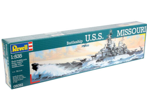 Revell Battleship U.S.S. Missouri 1:535 (5092)