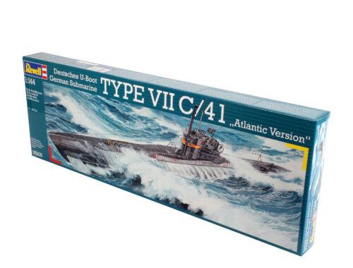 Revell U-Boot TYPE VII C/41 Atlantic Version 1:144 (5100)