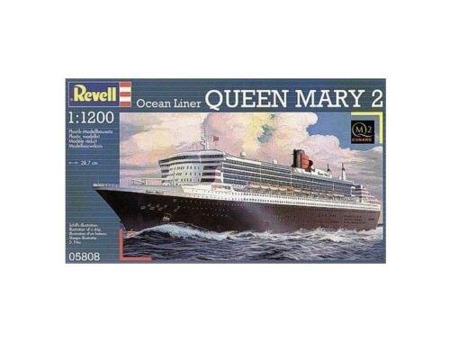 Revell Ocean Liner Queen Mary 2 1:1200 (5808)