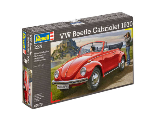 Revell VW Beetle Cabriolet 1970 1:24 (7078)