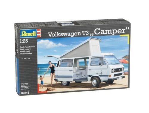 Revell Volkswagen T3 Camper 1:25 (7344)