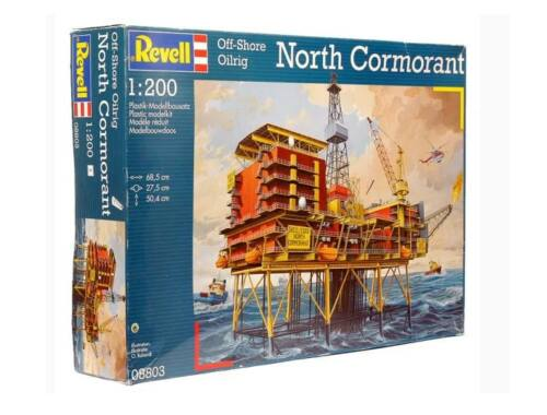 Revell Off-Shore Oilrig North Cormorant 1:200 (8803)