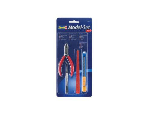 Revell Model Tools Set Plus modellező szerszámok /4db/ (29619)