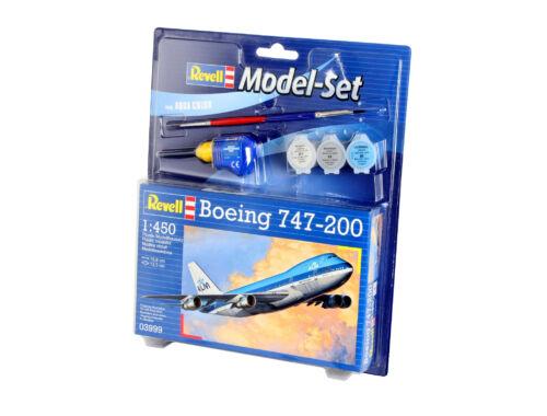 Revell Model Set Boeing 747-200 1:450 (63999)