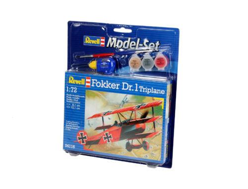 Revell Model Set Fokker Dr. 1 Triplane 1:72 (64116)