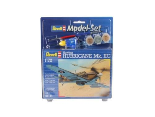 Revell Model Set Hawker Hurricane Mk.IIC 1:72 (64144)