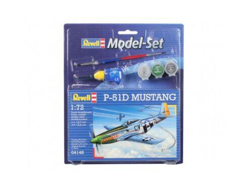 Revell Model Set P-51D Mustang 1:72 (64148)
