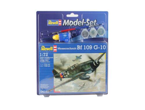 Revell Model Set Messerschmitt Bf 109 G-10 1:72 (64160)