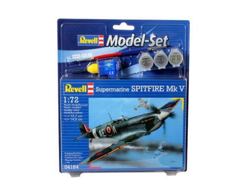 Revell Model Set Supermarine Spitfire Mk.V 1:72 (64164)
