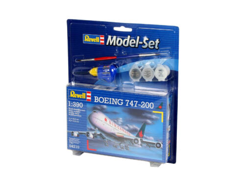Revell Model Set Boeing 747-200 1:390 (64210)