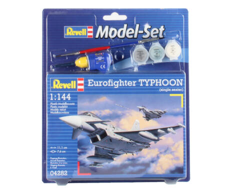 Revell Model Set Eurofighter Typhoon (Single Seater) 1:144 (64282)