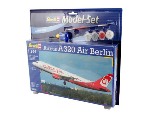 Revell Model Set Airbus A320 AirBerlin 1:144 (64861)