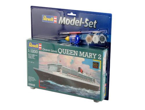 Revell Model Set Ocean Liner Queen Mary 2 1:1200 (65808)