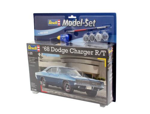 Revell Model Set '68 Dodge Charger R/T 1:25 (67188)