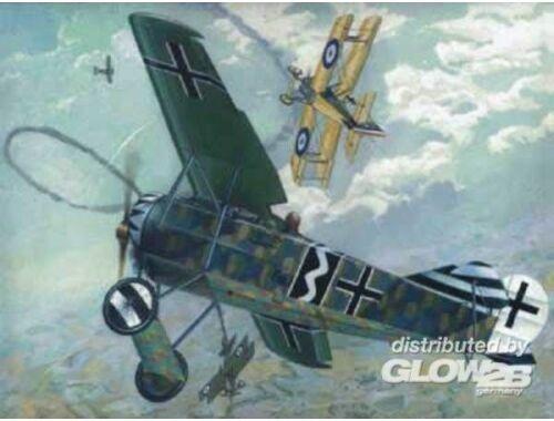 Roden Fokker E.V (D.VIII) 1:72 (004)
