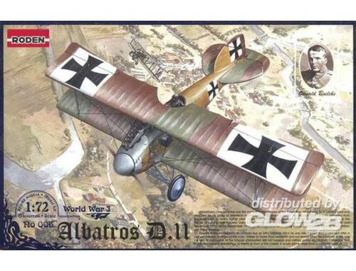 Roden Albatros D.II World War 1 1:72 (006)