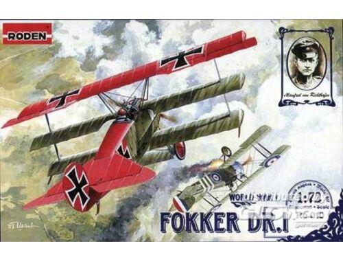 Roden Fokker Dr.I 1:72 (010)