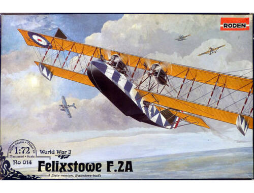 Roden Felixstowe F.2A Late Version 1:72 (014)