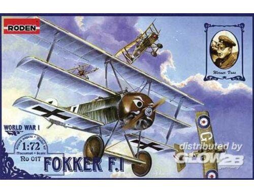 Roden Fokker F.I 1:72 (017)