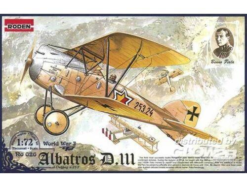 Roden Albatros D.III Oeffag s.253 1:72 (026)