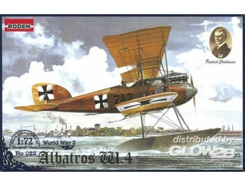 Roden Albatros W.IV (early) 1:72 (028)