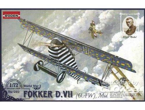 Roden Fokker D.VII(OAW) Mid 1:72 (029)